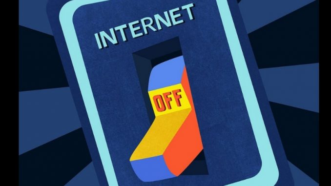 Internet off