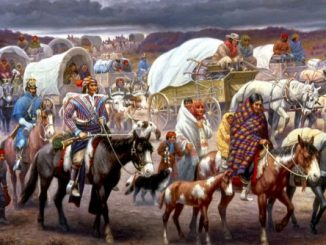 The Removal of the Chickasaw Indians
