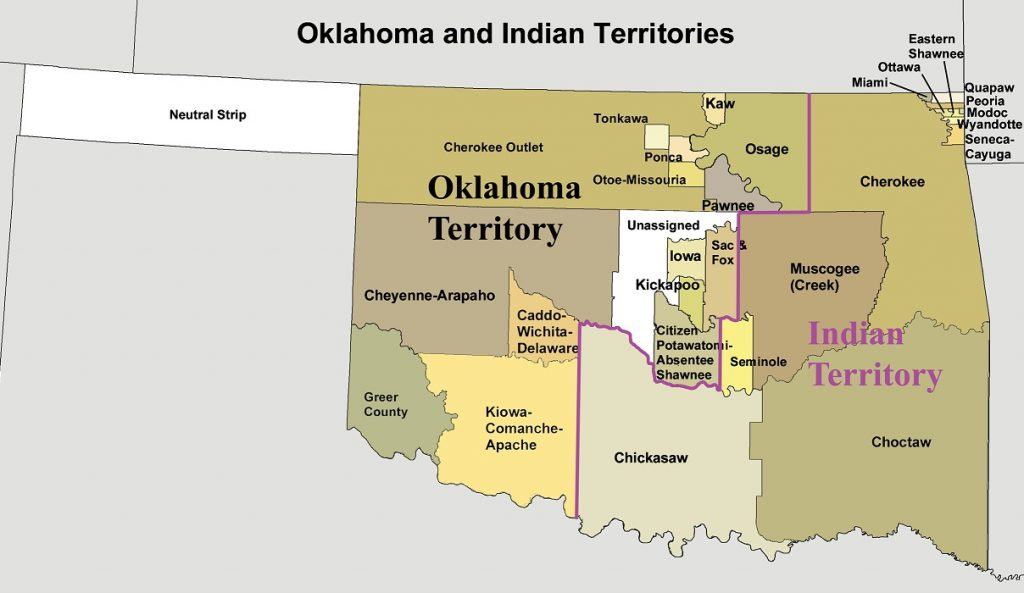 Oklahoma Statehood and Indian Nations