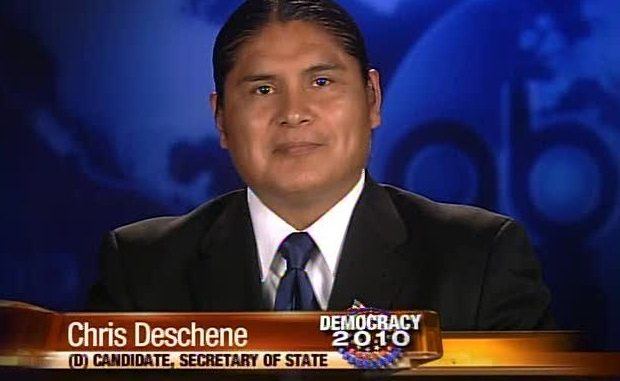 candidate Chris Deschene