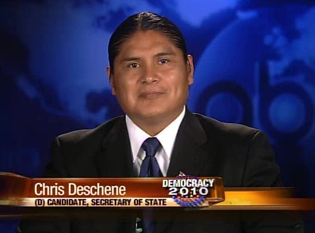 candidate Chris Deschene