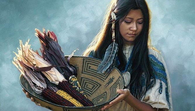 American Indian Women: A Trader's Wife