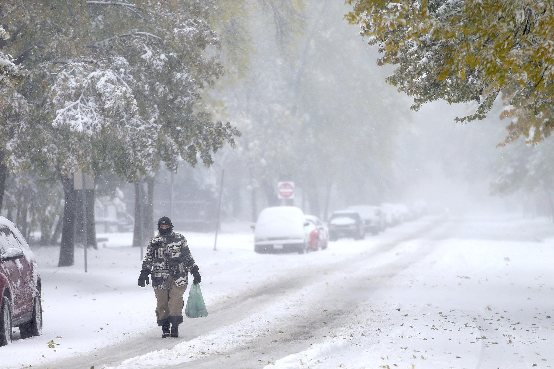 Blizzard hits Dakotas