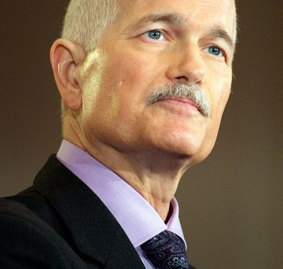 Opposition leader Jack Layton