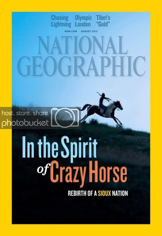National Geographic Cover Features Spirit of Pine Ridge