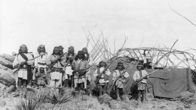 The Civil War and Indians in Arizona