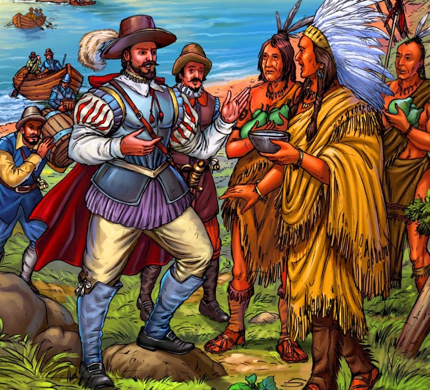 The Spanish and Indians in Florida