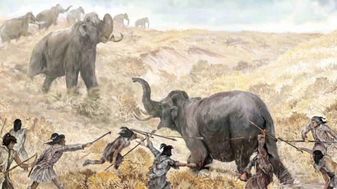 Hunting Mastodons
