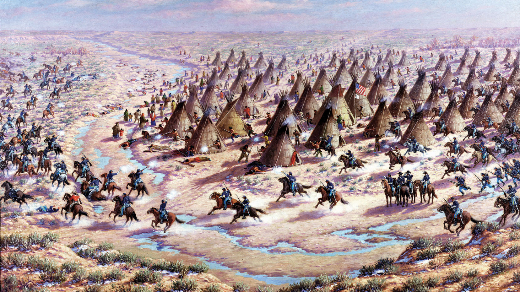 Plains Indians follow the Civil War
