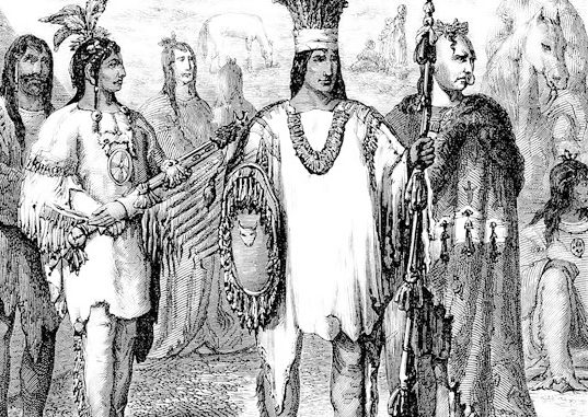 Early French Encounters With Indians