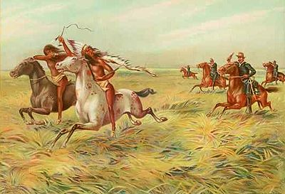 conflicts with the Native Americans