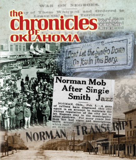 Greed, Corruption, and the Foundation for Oklahoma Statehood, 1893 to 1894