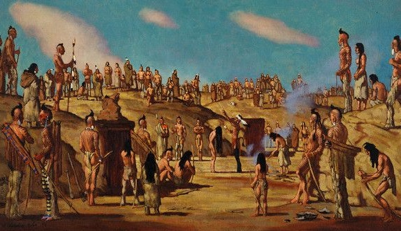 The Pawnee Morning Star Ceremony