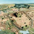 The ancient city of Cahokia