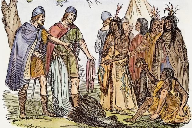 Ancient America Vikings and Indians