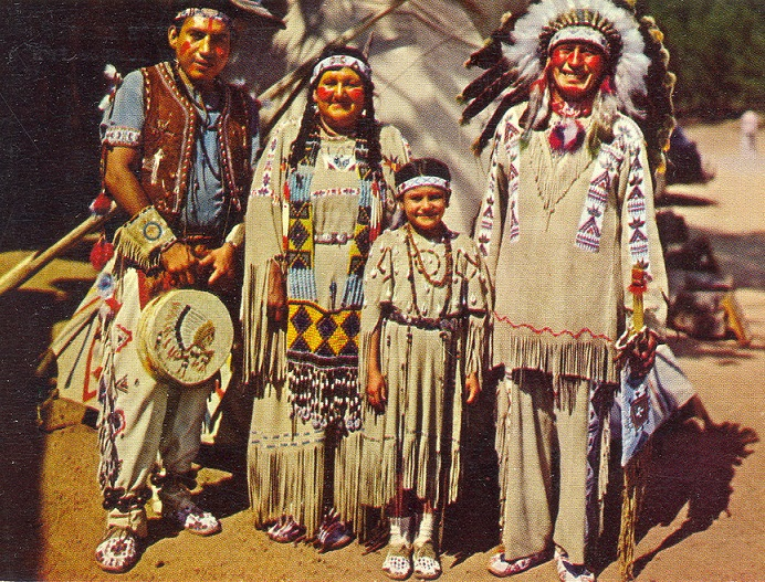 The Traditional Cherokee Family