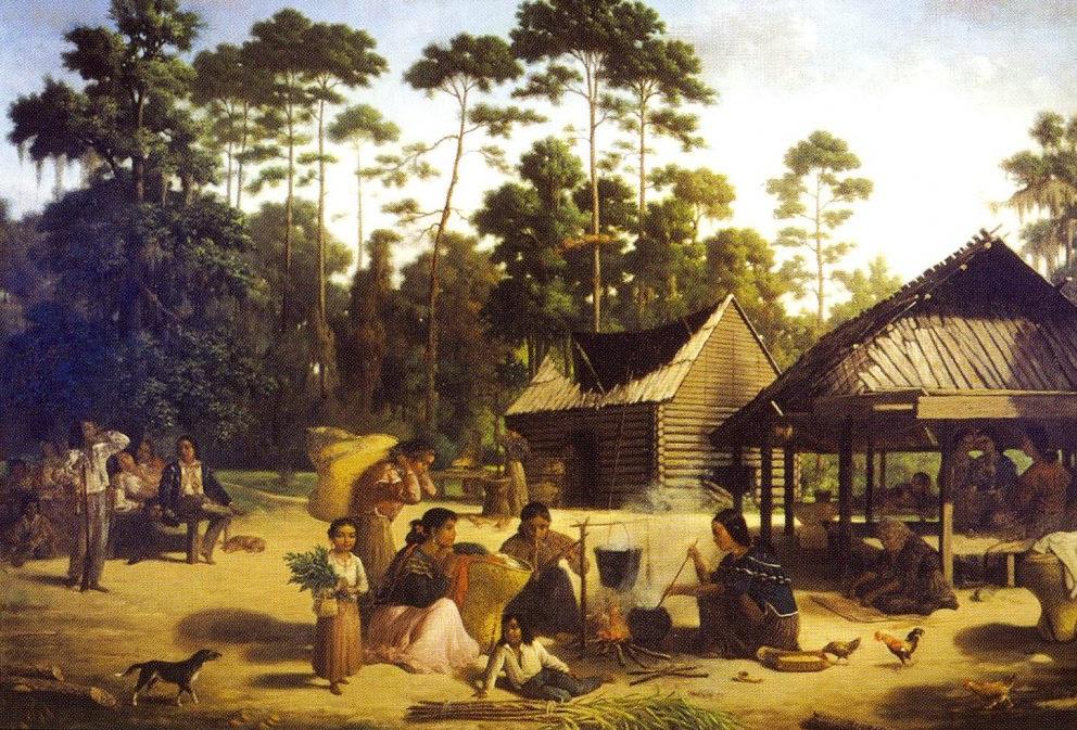 The Cherokee in 1817