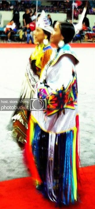 Calsee Has No Horse, Miss Denver March Powwow Princess 2012