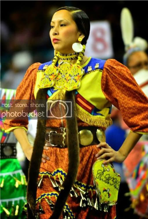 Calsee Has No Horse, Miss Denver March Powwow 2012 Princess