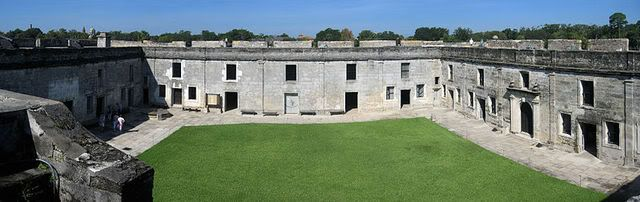 Fort Marion Courtyard