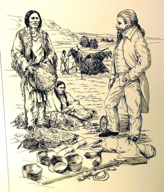 American Indians in 1716