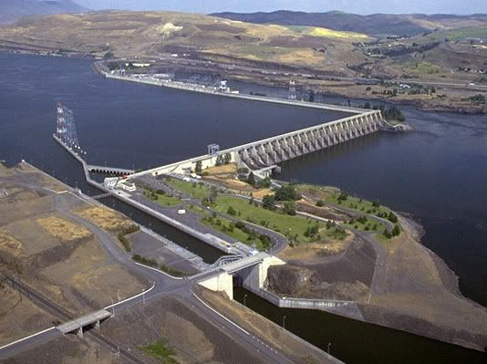 The Dalles Dam