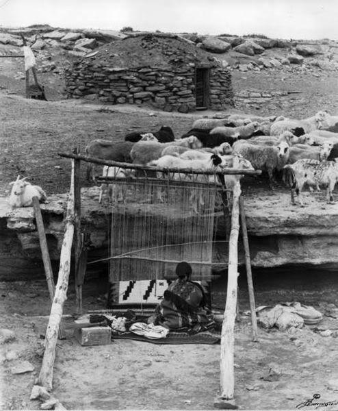 NavajoSheepandWeaver