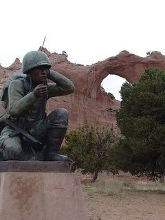 Navajo_Code_Talker_Monument