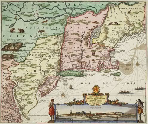 New Netherrland Map
