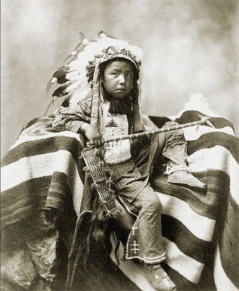 Young Sioux Boy
