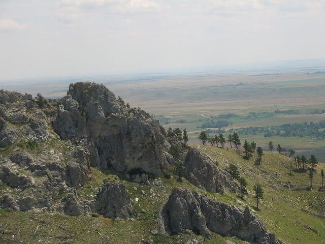 View from Bear Butte