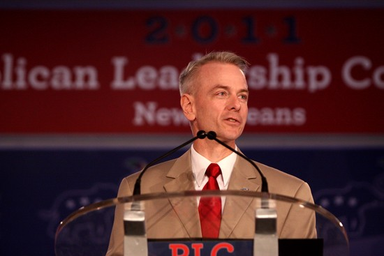 Steve Russell speaking at the Republican Leadership Conference in New Orleans, Louisiana.