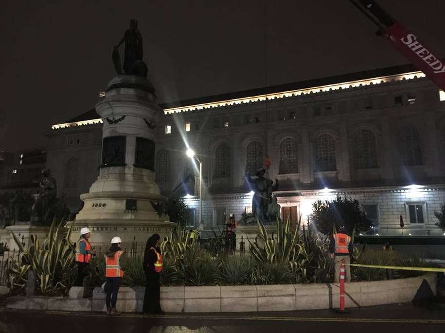 Racist_Statue_Removed_in_SF