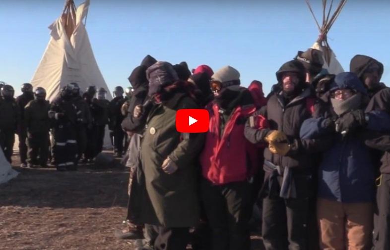 Standing Rock Camp Raided